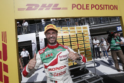 Pole position per Tiago Monteiro, Honda Racing Team JAS, Honda Civic WTCC