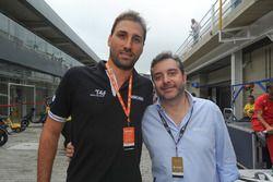 Rodrigo Mathias e Maurício Slaviero