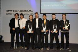 Alessandro Zanardi, Felipe Nasr, Gabby Chaves, Mario Theissen, Rio Haryanto, Gary Thompson, Robin Fr