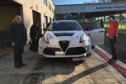 Michela Cerruti, Alfa Romeo Giulietta TCR, Romeo Ferraris