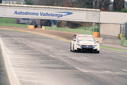 Honda Civic WTCC, test di Vallelunga