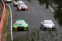 #90 MARC Cars Australia, BMW M6 GT3: Chaz Mostert, Max Twigg, Morgan Haber; #40 Brookspeed, Porsche