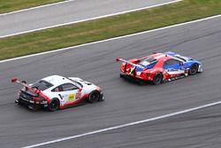 #912 Porsche Team North America Porsche 911 RSR: Kevin Estre, Laurens Vanthoor, Richard Lietz, #67 F