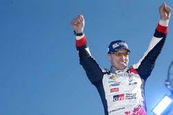 I vincitori Jari-Matti Latvala, Toyota Racing