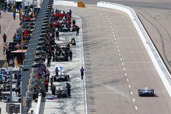 IndyCar-Boliden in der Boxengasse