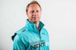 Gerry Hughes, jefe de equipo de NextEV