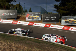 #44 Supabarn, Audi R8 LMS: James Koundouris, Theo Koundouris, Markus Marshall, Simon Evans; #3 Team