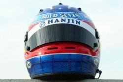 Il casco di Fernando Alonso, Renault F1 Team