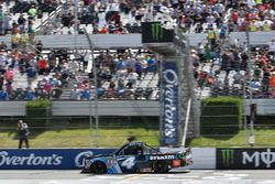 Christopher Bell, Kyle Busch Motorsports Toyota takes the checkered flag