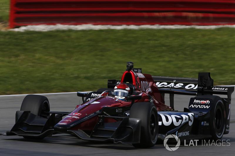 Михаил Алешин, Schmidt Peterson Motorsports, IndyCar