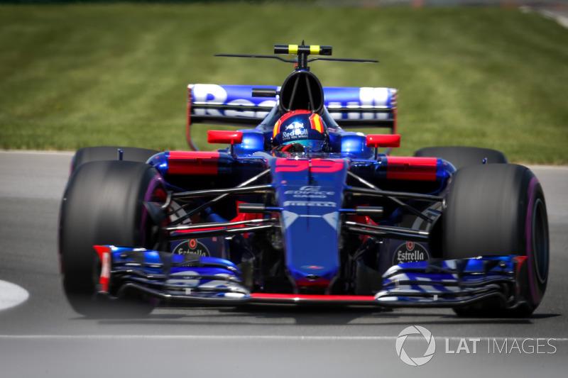 Сход: Карлос Сайнс-мл., Toro Rosso