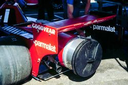 The contraversial Brabham Alfa Fan car made its debut in Anderstorp.