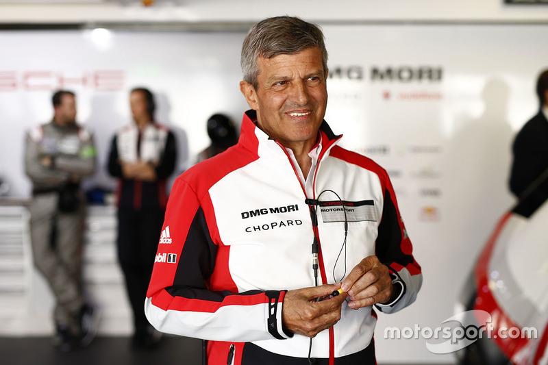 Fritz Enzinger, Capo del programma Porsche LMP1