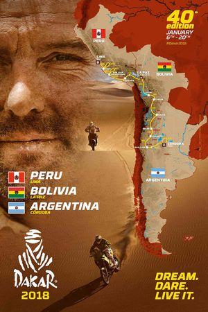 2018 Dakar route
