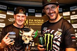 Andreas Bakkerud, Hoonigan Racing Division, Ford Focus RSRX and Ken Block, Hoonigan Racing Division,
