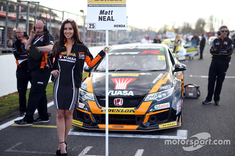 Matt Neal, Halfords Yuasa Racing, Honda Civic Type R