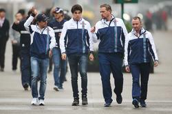Felipe Massa, Williams, Lance Stroll, Williams, and Paddy Lowe, Williams Formula 1