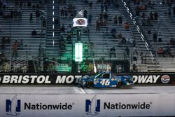 Kyle Busch, Kyle Busch Motorsports Toyota takes the checkered flag