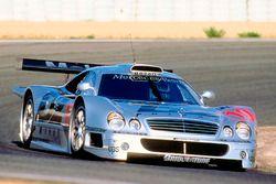 #10 AMG Mercedes-Benz CLK-GTR: Алессандро Нанннини, Марсель Тиманн