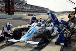 Arrêt au stand de Tony Kanaan, Chip Ganassi Racing Honda