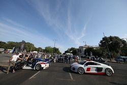 GT3 ve Audi araçları sergide