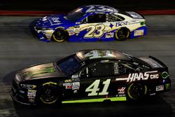 Kurt Busch, Stewart-Haas Racing Ford, Joey Gase, BK Racing Toyota