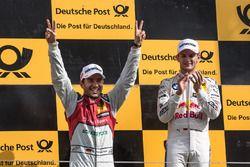 Podium: Marco Wittmann, BMW Team RMG, BMW M4 DTM, Mike Rockenfeller, Audi Sport Team Phoenix, Audi RS 5 DTM