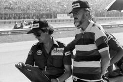 Bert Baldwin, with Don Nichols, Shadow Team Owner