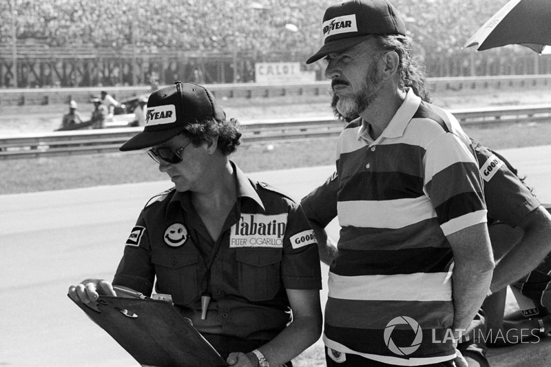 Bert Baldwin, con Don Nichols, proprietario del Team Shadow