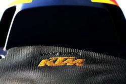 Detailfoto van de KTM