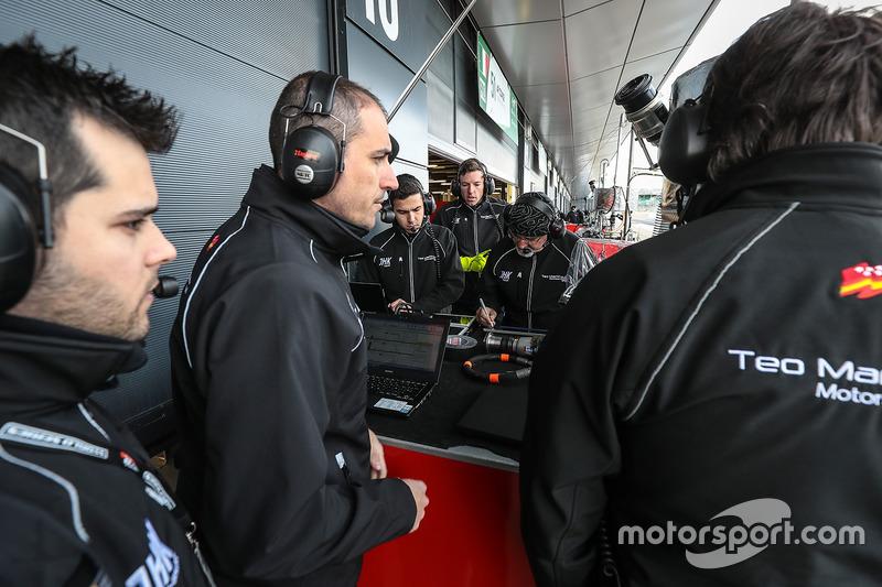 Miembros del equipo de Teo Martin Motorsport