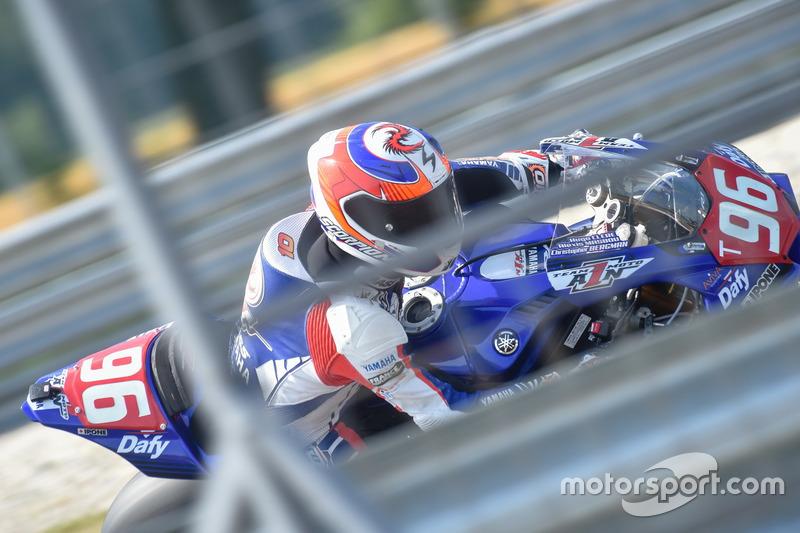 #96 MOTO AIN CRT, Yamaha: Christoffer Bergmann, Alexis Masbou, Hugo Clere