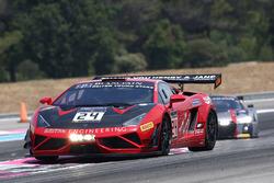 #24 Reiter Young Starts Lamborghini Reiter Gallardo R-EX: Caitlin Wood, Marko Helistekangas, Tomas E