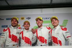 1. #29 Audi Sport Team Land-Motorsport, Audi R8 LMS: Christopher Mies, Connor De Phillippi, Markus W