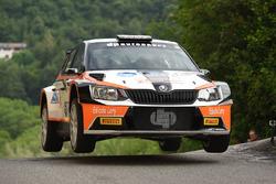 Ilario Bondioni, Elia Ungaro, Skoda Fabia R5 19, DP Autosport