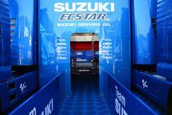 Team Suzuki MotoGP motorhome