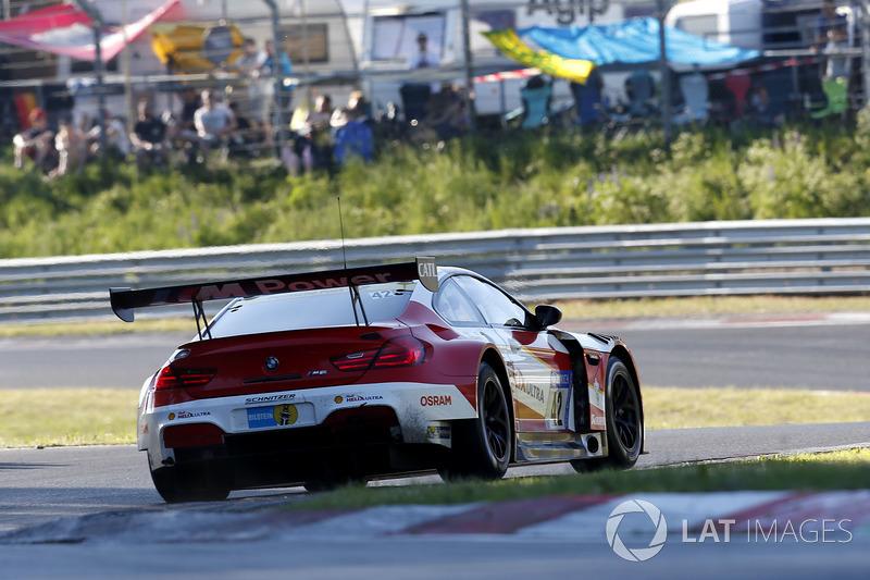#42 BMW Team Schnitzer, BMW M6 GT3: Marco Wittmann, Tom Blomqvist, Martin Tomczyk, Augusto Farfus