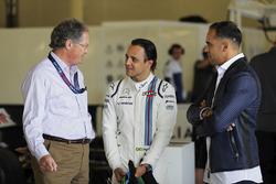 Frank Dernie, Felipe Massa, Williams, Pastor Maldonado
