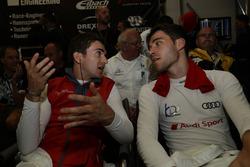 Коннор де Филиппи и Кельвин ван дер Линде, Audi Sport Team Land-Motorsport
