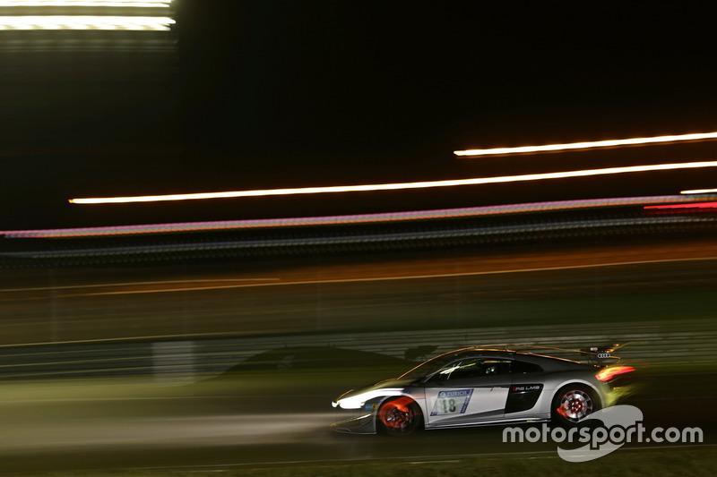 #18 Audi Sport Team Phoenix, Audi R8 LMS GT4: Christian Abt, Rahel Frey, Patrick Huismann, Peter Ter