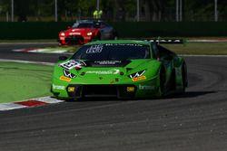 #63 GRT Grasser Racing Team, Lamborghini Huracan GT3: Mirko Bortolotti, Christian Engelhart, Andrea