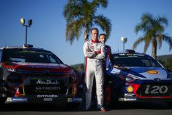 Kris Meeke, Citroën World Rally Team, Nicolas Gilsoul, Hyundai Motorsport