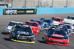 Matt Tifft, Joe Gibbs Racing, Toyota; Austin Dillon, Richard Childress Racing, Chevrolet