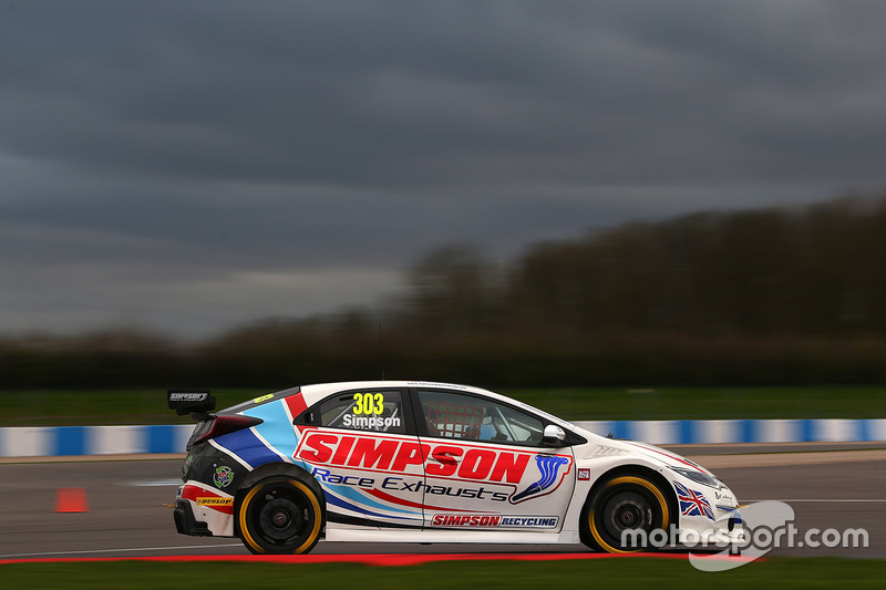 Matt Simpson, Simpson Racing Honda Civic Type R