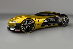 Renault Trezor in Renault Sport F1 Team livery
