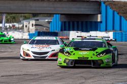 #11 GRT Grasser Racing Team, Lamborghini Huracan GT3: Christian Engelhart, Rolf Ineichen, Richard An