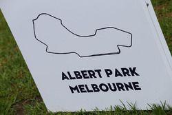 Albert Park circuit sign
