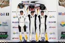 GTLM winner: #3 Corvette Racing Chevrolet Corvette C7.R: Antonio Garcia, Jan Magnussen, Mike Rockenf