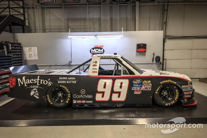 Darrell Wallace Jr., MDM Motorsports