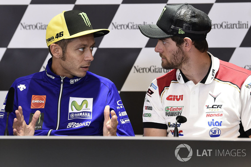 Conferencia de prensa: Valentino Rossi, Yamaha Factory Racing, Cal Crutchlow, Team LCR Honda